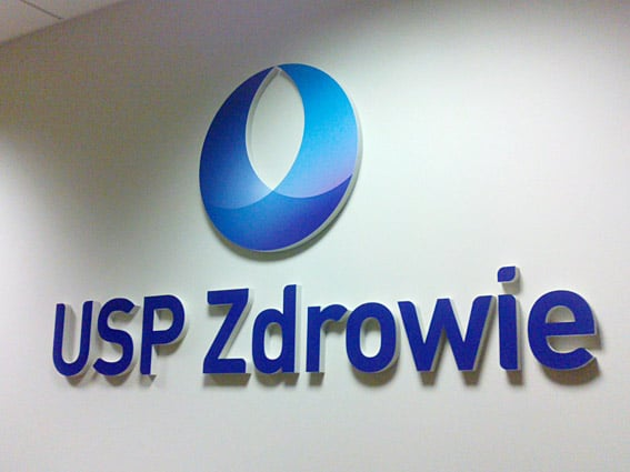 Logo signboard