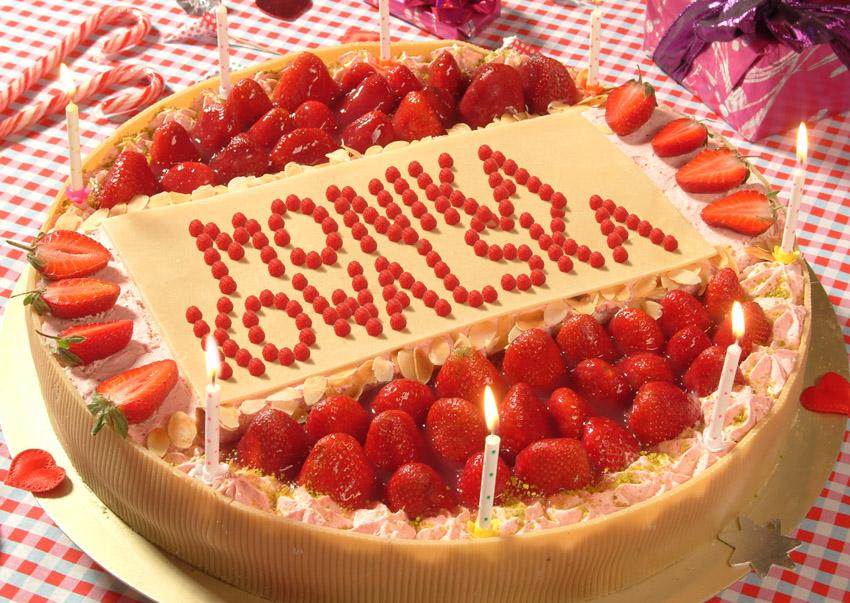 Birthday Strawberry