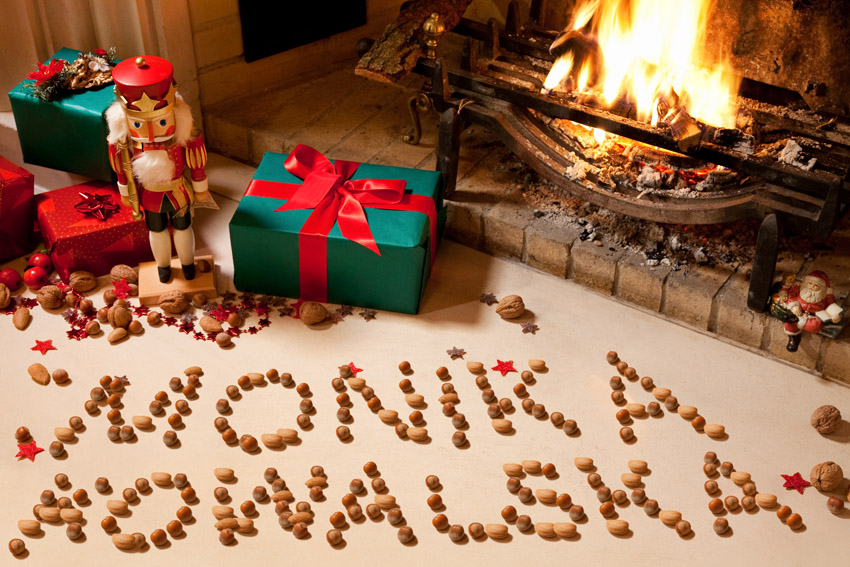 Christmas Nuts Chimney