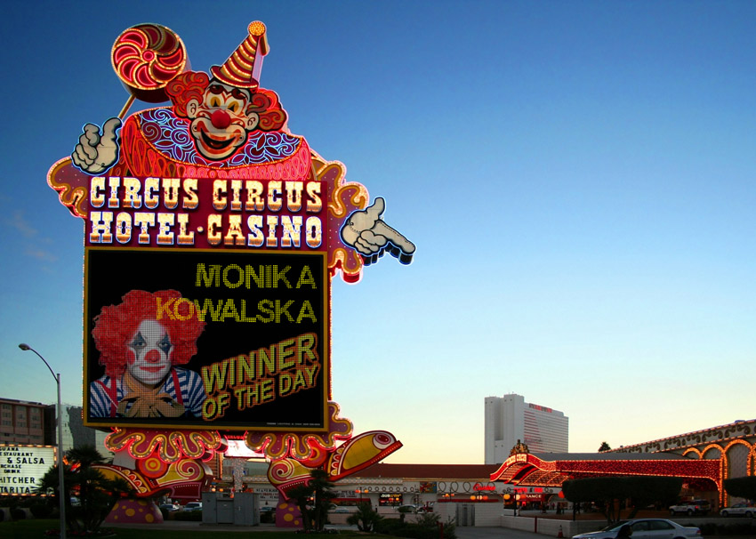 Circus Casino Billboard