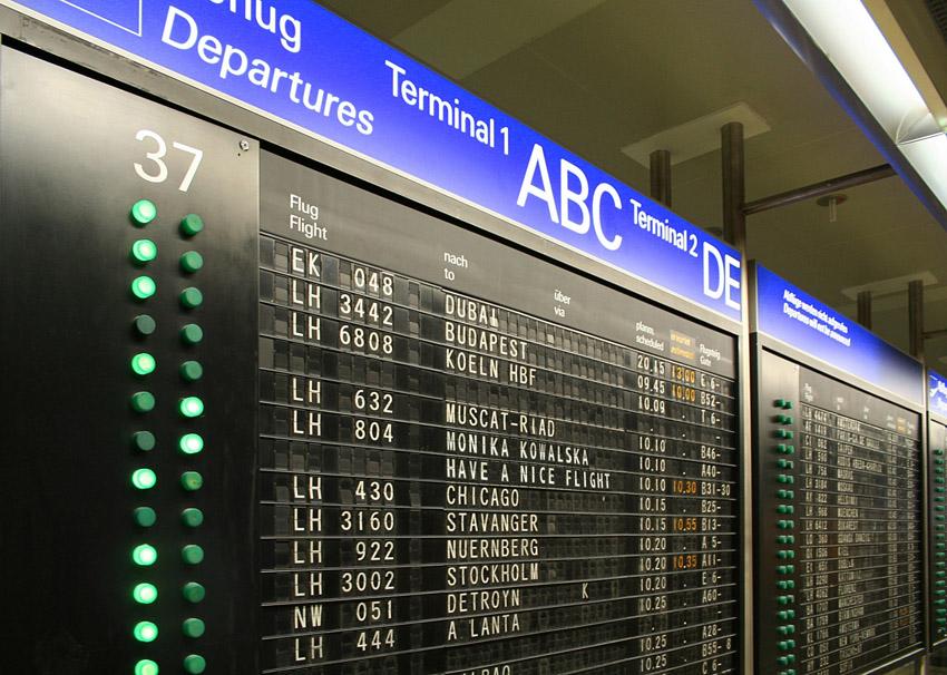 Departure Display