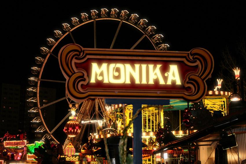 Ferris Wheel Sign