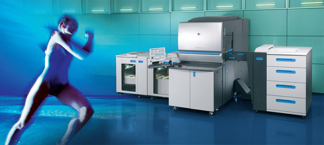 express digital printing of short runs