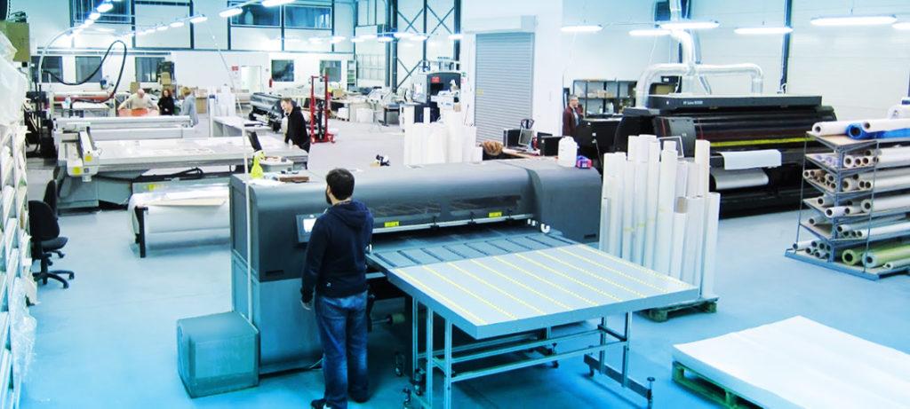 Digital Großformatdruckerei