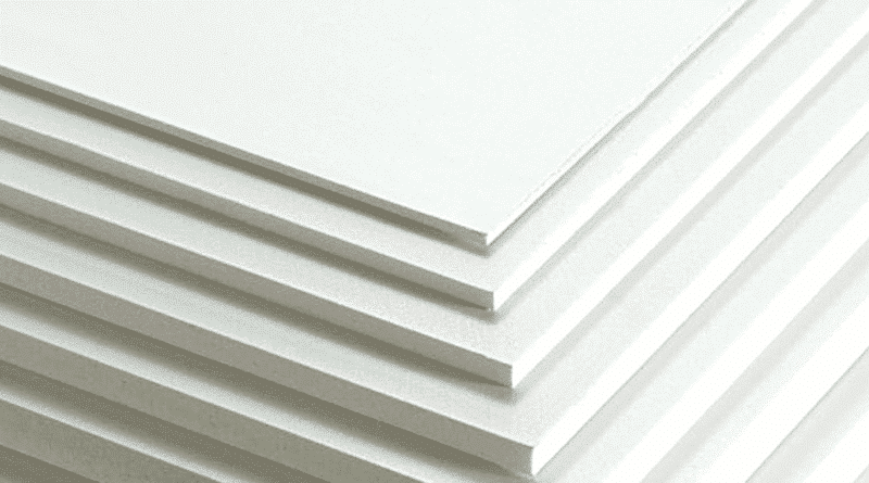 foamed pvc for large format printing