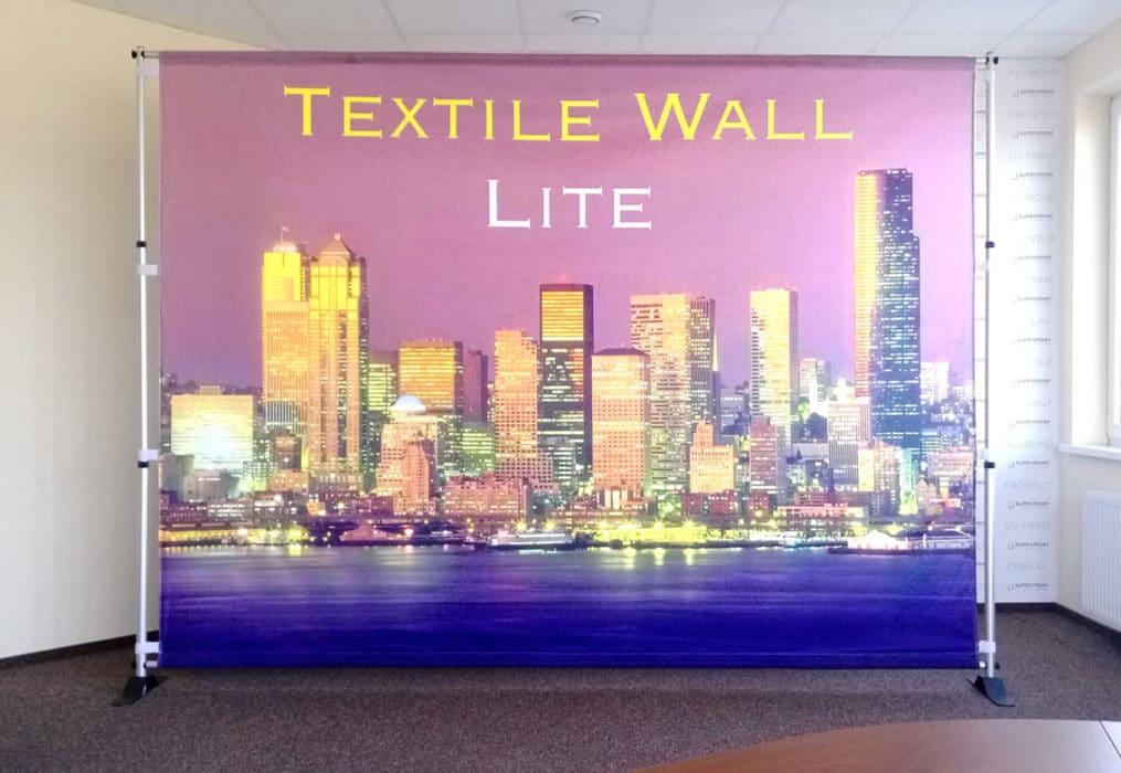 cheap textile backwall lite