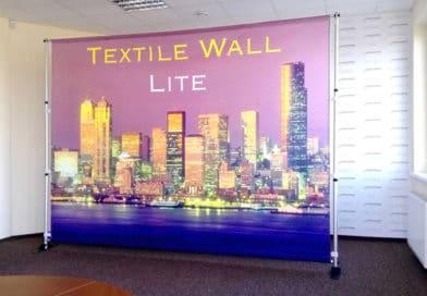 billige Textilausstellungswand
