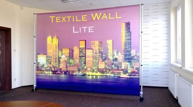cheap textile backwall lite