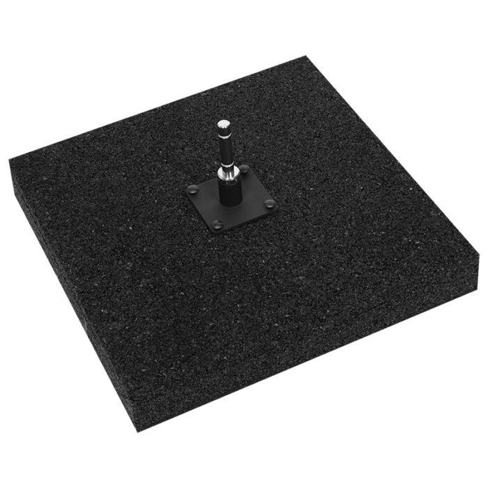 Flat rubber base 15 kg