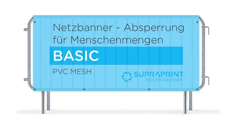 Billig Netz Banner für Absperrgitter