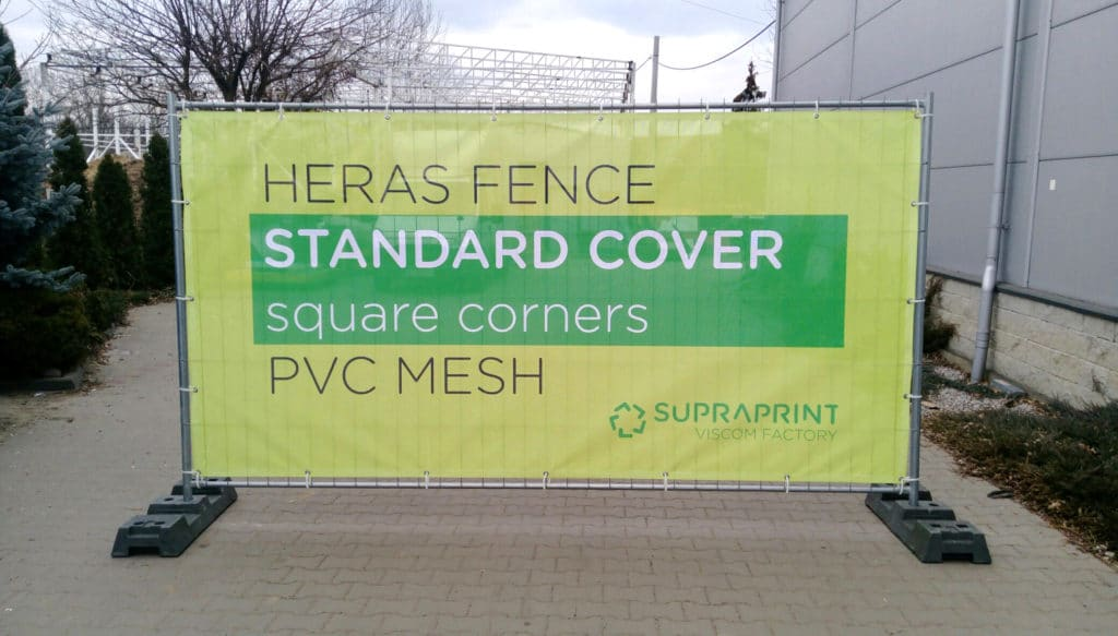 printed mesh banners for temporaty heras fencing scrim