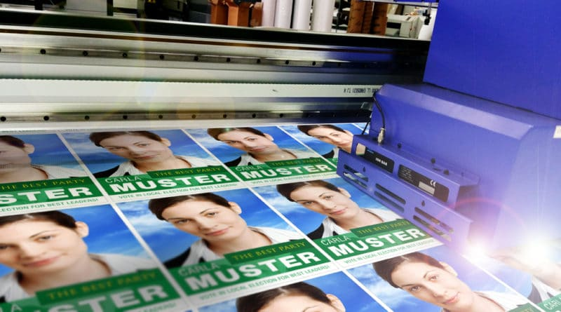 Correx board printing