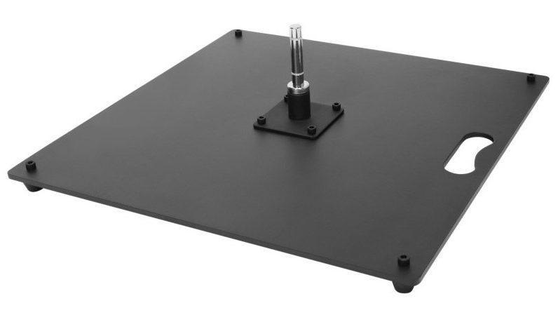 Flat steel base 15 kg