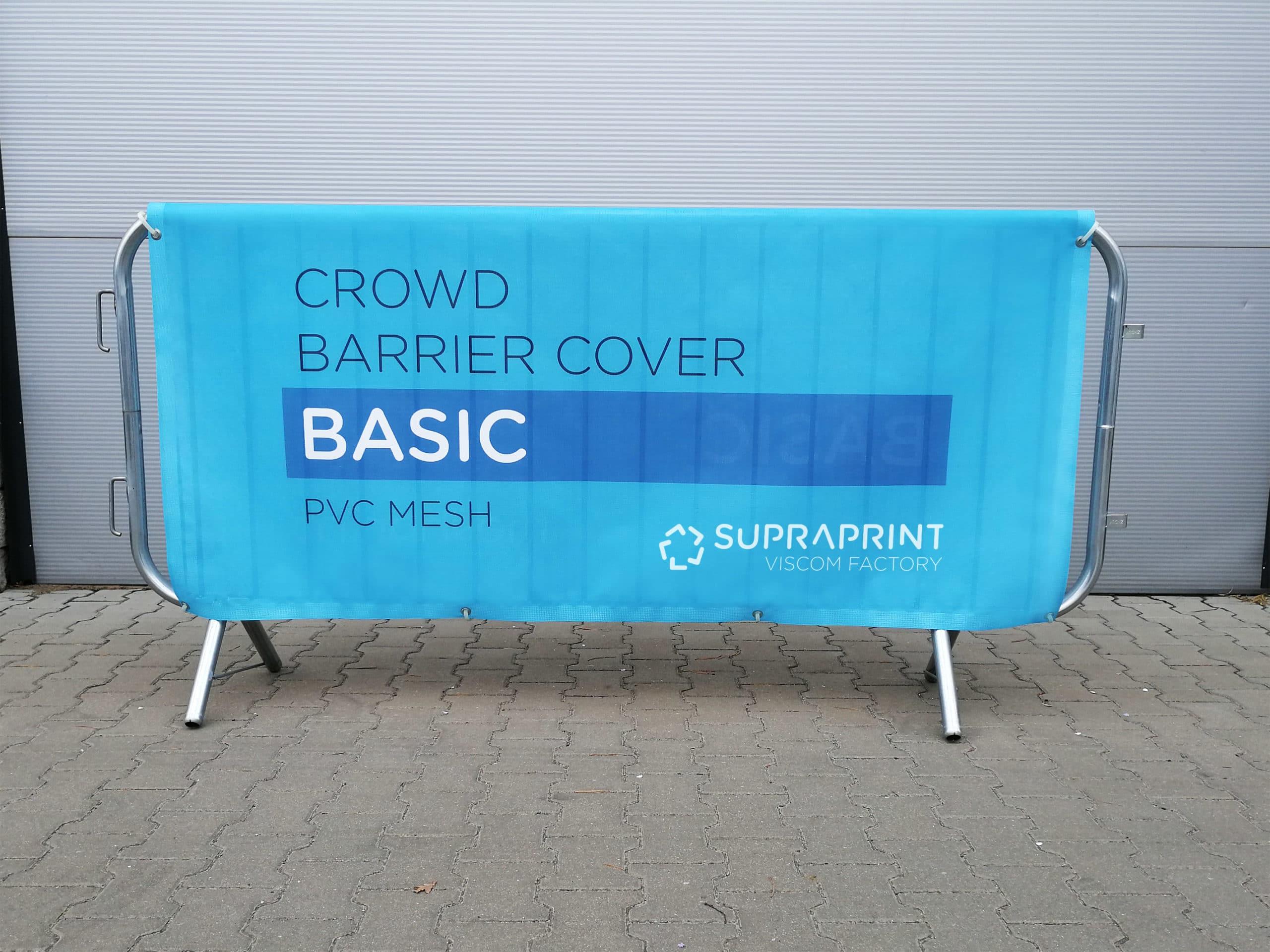 BASIC baner na barierkę ochronną - dwustronny