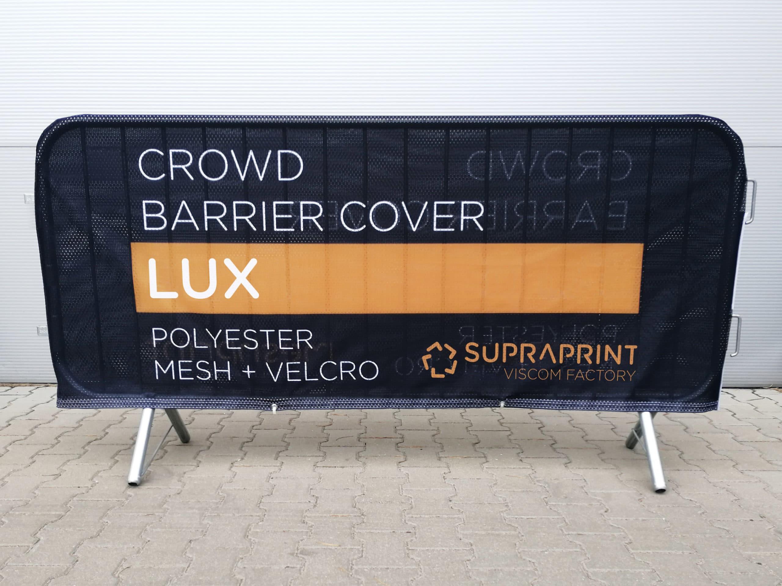 LUX baner na barierkę ochronną - dwustronny