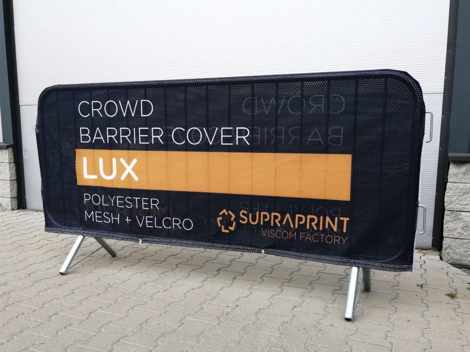Tissu publicitaires perforées pour barrière de foule