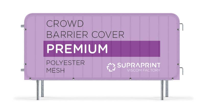 mesh airy jacket for crowd barrier