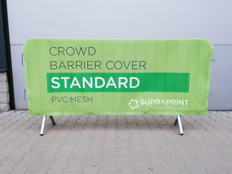 banderole pour barrière de sécurité avec impression