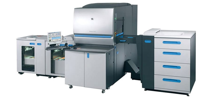 HP Indigo express digital printing of short runs
