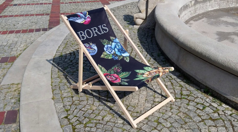 deckchair with logo