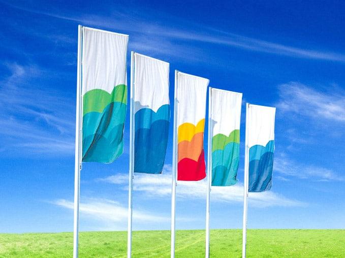 flagi reklamowe w dowolnym rozmiarze