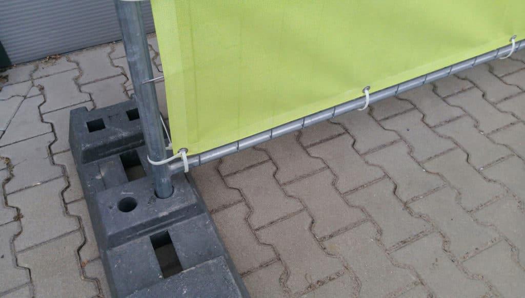 heras fence banner printing