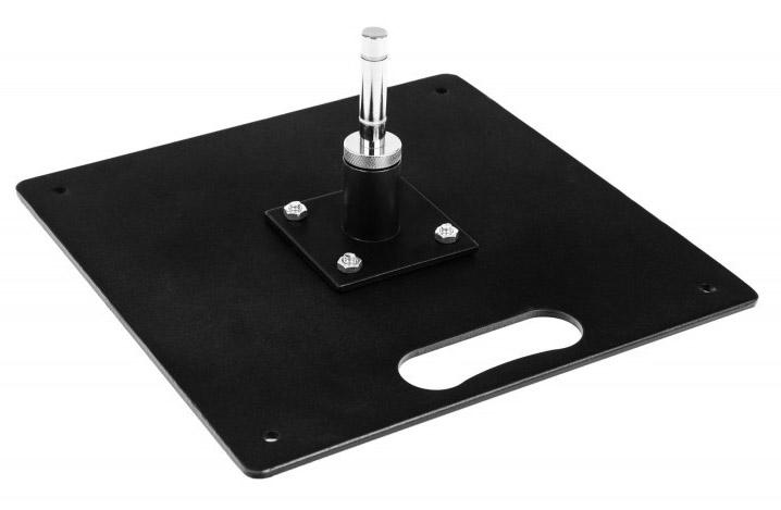 Flat steel base 8 kg
