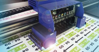 Grossformat UV-Druck auf Platten