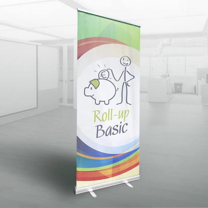 Roll-up Basic banner