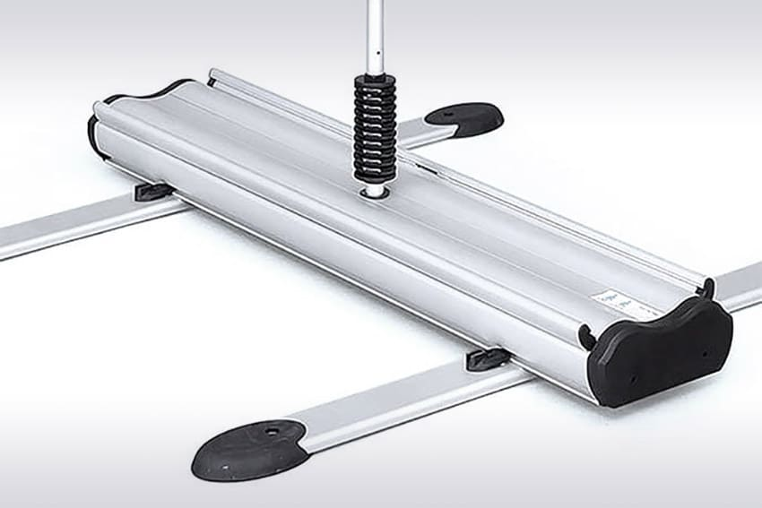 heavy duty banner stand Outdoor