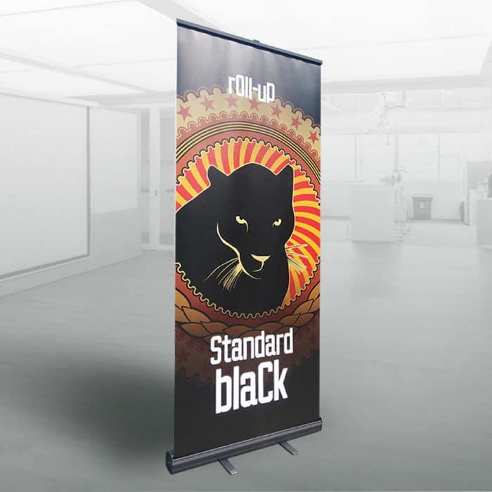 roller banner Standard Black
