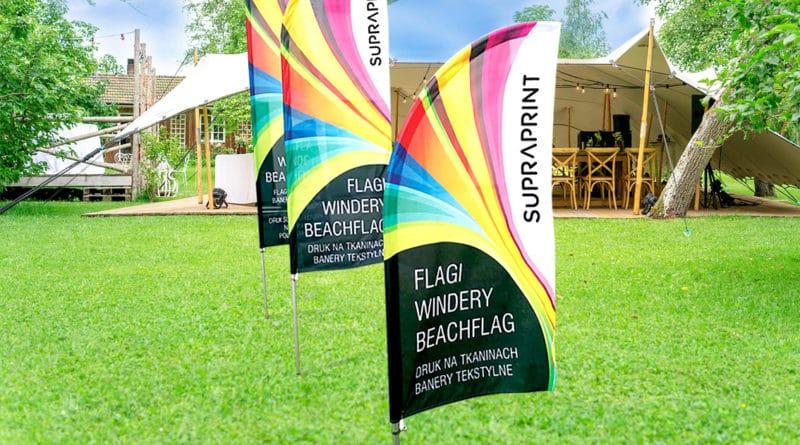 Feather flag Alu Premium