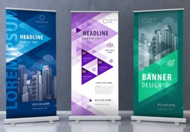 advertising rollup banners